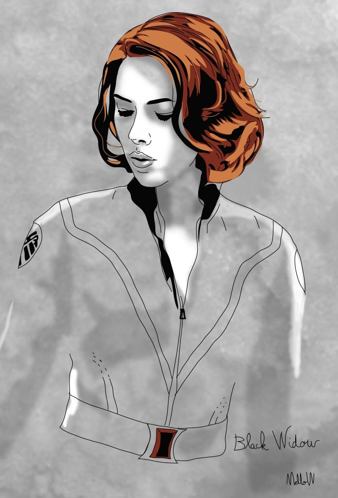 black-widow-illustration-mellow